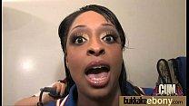 Ebony gets group cumshots 17 thumb