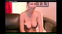 girl webcam tits natural Big