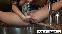 Taylor Vixen sexy solo masturbation