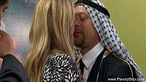 Slut Does Arabian 3some