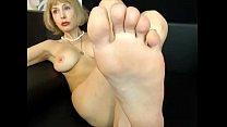 Awesome mature foot show - hotcams365.com