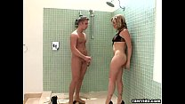 Adrianna Nicole DP threesome in the shower