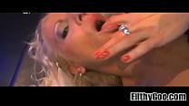 Blonde slut fucked  11 Widescreen TSO[29]