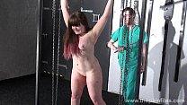 Teen bdsm of chubby amateur slave Louise in har... Thumbnail