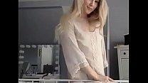 dickgirls.xyz on live toy, plug butt a handles tgirl blonde Cute