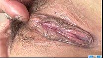 Rui Natsukawa brunette babe devours cock in hardcore