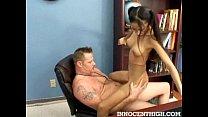 Skinny latina teen Alexis Love riding her profs...