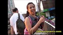 หีเหม็นกระหรี่สาวไทยขายตัวผ่านแอพหาคู่โดนนัดมาเย็ดที่โรงแรมม่านรูด