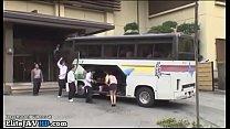 Japanese teacher wants fuck on the college bus Thumbnail