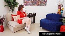 Hypnotism Expert Dr. Sara Jay Makes Latina Cris...