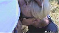 blonde wife sucking her friends cock