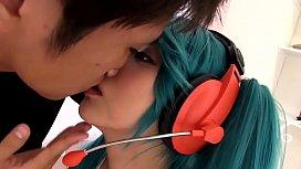 【Miku Hatsune】I would like to sperm Japanese cosplay.2
