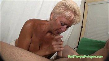 Horny Tracy Sucks A Hard Cock