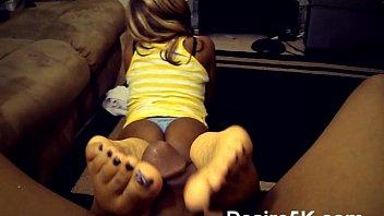 porn foot fetish Good black