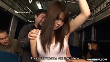 Bus hijackers make the school girl masturbate h... | Video Make Love