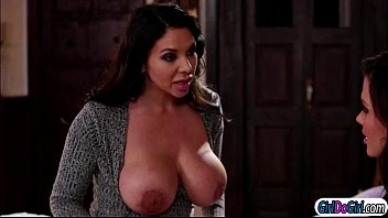 Keisha grey sucking on her stepmom missy martinez huge tits