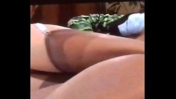Watchig sleeping ass wife