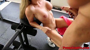 Bigboob skank brutally screwed in gym  #9902