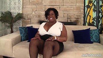 Horny black plumper Marliese Morgan masturbates | Video Make Love