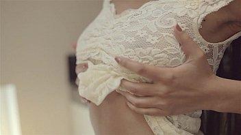 thumb Christy Charming Aka Paula Shy Cute Brunette Babe Perfect Tits In White