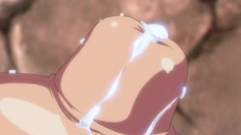 【アニメ】超乳美女の乳首ドアップで母乳が滲み出てくるシーンが興奮するw