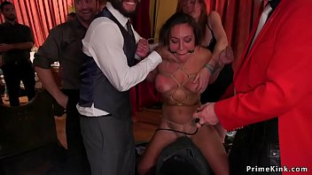xxarxx At bdsm party babes suffering rough sex