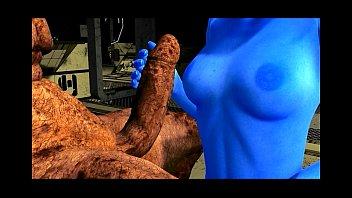 Порно мульт 3д монстр