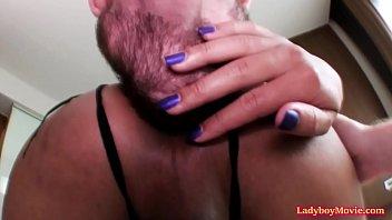 Homemade Ladyboy Bareback Fucking shemale ladyboy