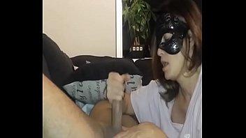 Masked girlfriend blowjob - http://goodcamgirl.com