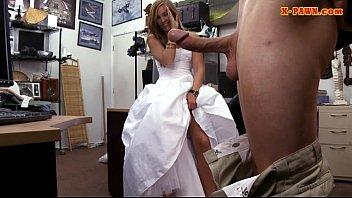 Girl getting fucked at wedding