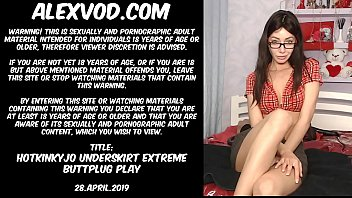 thumb Hotkinkyjo Underskirt Extreme Buttplug Play 28 April 2019