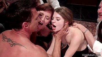 xxarxx Slaves anal ravaged at bdsm party