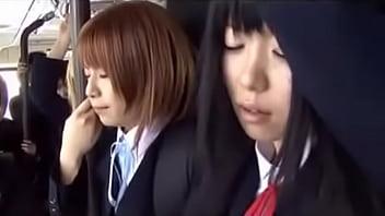 schoolgirl bus japanese chikan 2 | Video Make Love