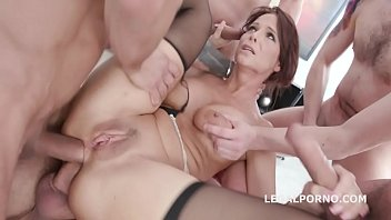 Monsters of dap with syren de mer balls deep anal and tp