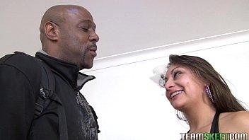 xxarxx Oyeloca Smalltits latina Ariana Valdes hardcore interracial big cock sex