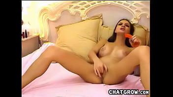 deep butt fun with sexy dildo