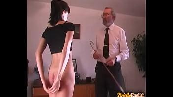 Concupiscent sex serf receives a public punishment
