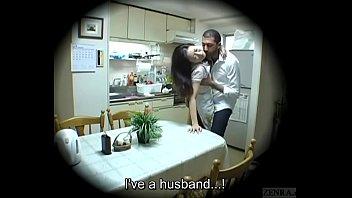 XVIDEO Subtitled Japanese homestay gone wrong host mom blowjob