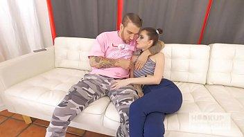 Petite teen meets up with guy she met online