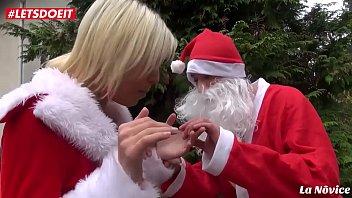 LETSDOEIT - French Wife Banged Hardcore by Santa