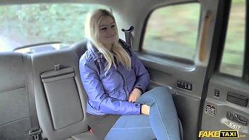 Fake Taxi Blonde Gets British Backseat Discount