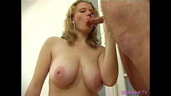 Super model sucking cock