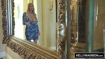 thumb Kelly Madison Blue Lingerie Seduces Her Man