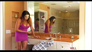 Big Tits And Ass Latina MILF Missy Martinez Cheats On Husband With Plumber