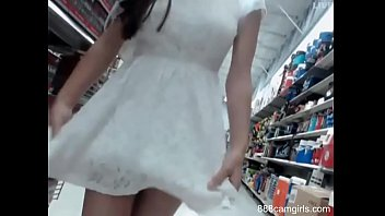 Two lesbians girls try fucks at walmart on live webcam