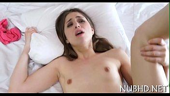 Diminutive bitch in a hardcore action | Video Make Love