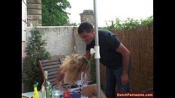thumb Dutch Blonde Rough Bj And Facial