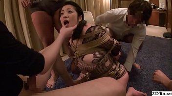 【小日向美奈子】爆乳人妻が亀甲縛りされマンコにバイブを突っ込まれイラマチオされ凌辱レイプ