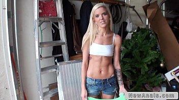 Slim blonde teen first time anal sex on huge dick | Video Make Love