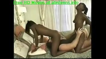 Two ebony babes fucked hard   Video Make Love